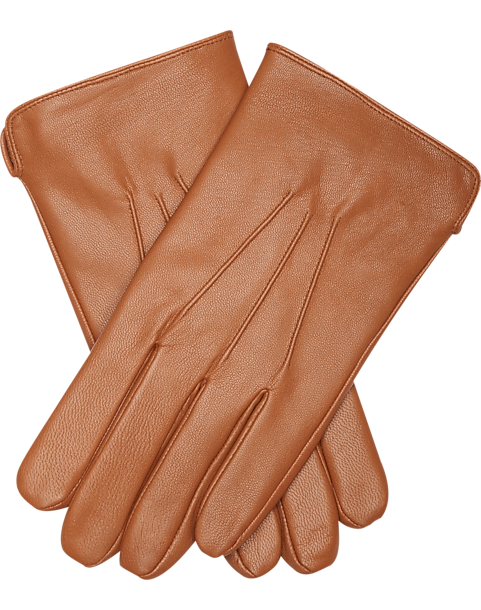 16137ac00af61 Joseph Abboud Cognac Leather Gloves - Men s Accessories