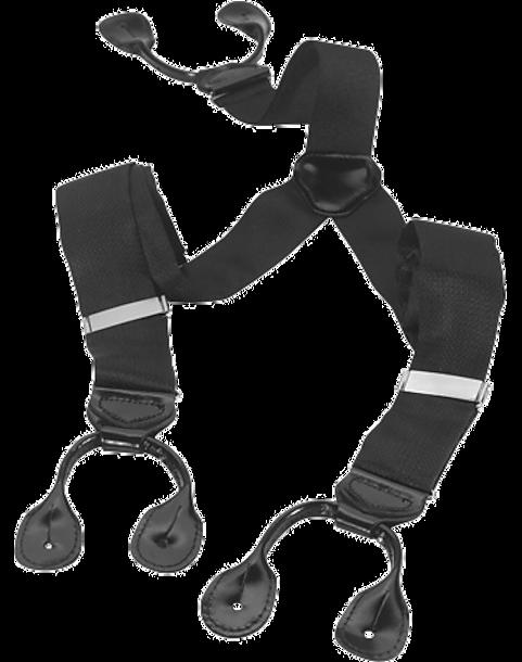 38521e1b4 Men s Wearhouse Big   Tall Black Formal Suspenders - Men s ...