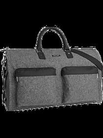 717e92dafaf81 Mens Gifts by Price, Clothing - Hook & Albert Gray Garment Weekender Bag -  Men's