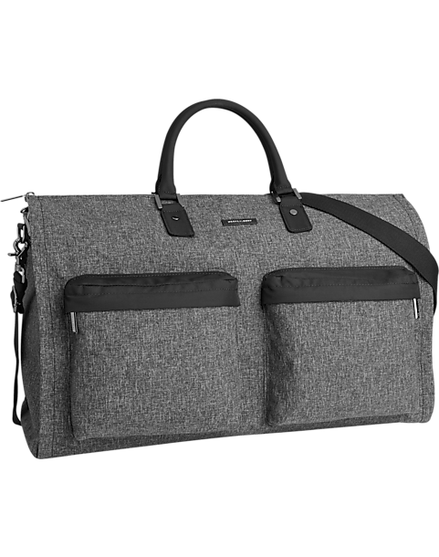 ff968d0d9960 Hook & Albert Gray Garment Weekender Bag