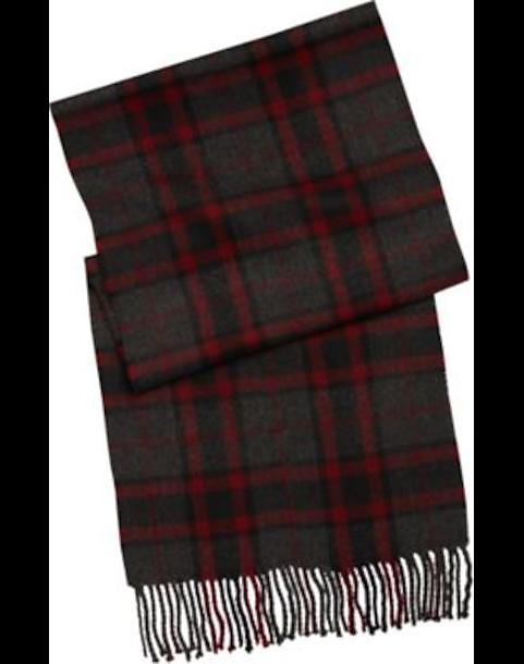 74d3a8ebb9fb1 Parc Black   Red Plaid Scarf - Men s Accessories