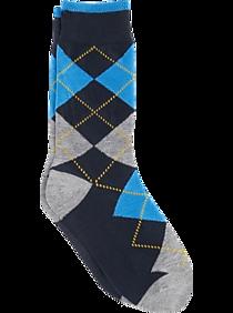 7a493f835 Egara Boys Argyle Socks One-Pair