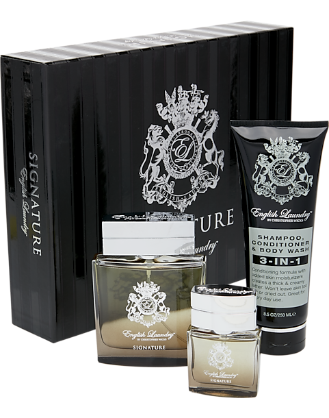 Alternative view thumbnail & English Laundry Signature Fragrance Gift Set - Menu0027s Accessories ...