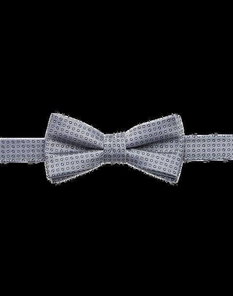 8e94a8a1a0f3 Joseph Abboud Boys Gray Dot Pre-Tied Bow Tie - Men s Accessories ...