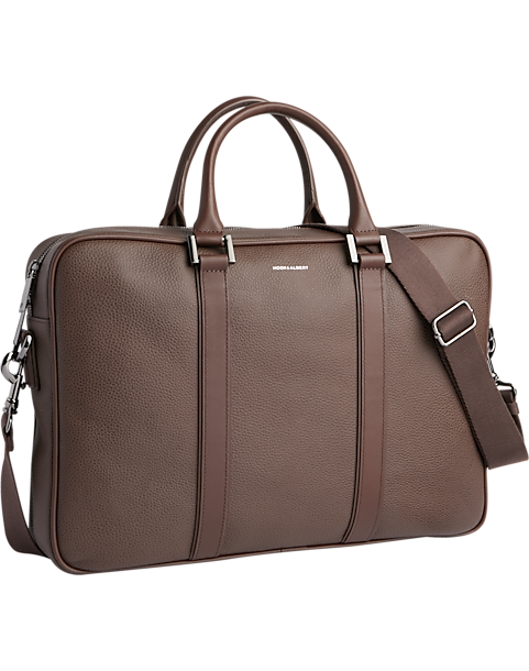 43a4a1a0462e Hook & Albert Brown Leather Briefcase