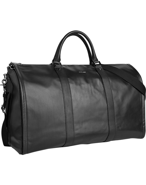 Hook & Albert Black Project 11 Weekender Garment & Duffle Bag by Hook And Albert