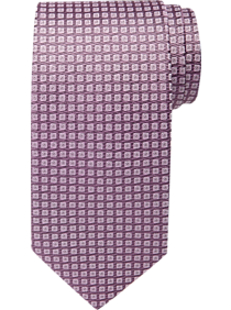 2a3c2b745685 Mens Ties, Accessories - Awearness Kenneth Cole Rose Check Narrow Tie -  Men's Wearhouse