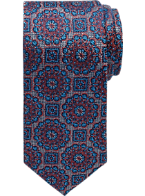 Pronto Uomo Red Medallion Narrow Tie