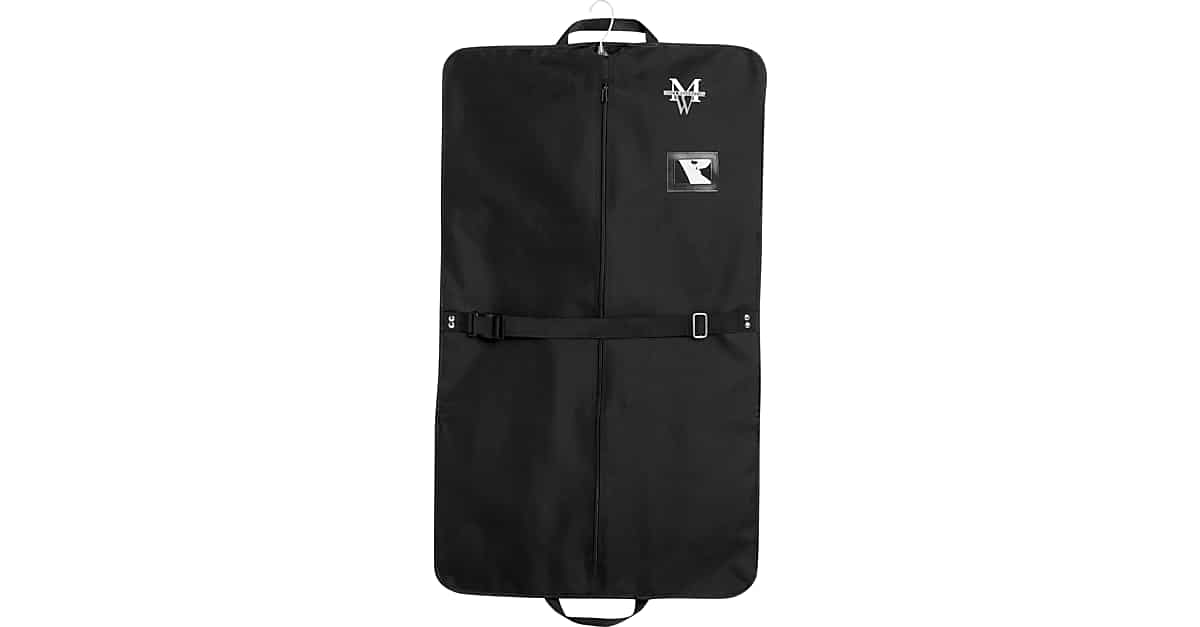 6ffa440521b7 Men's Wearhouse Black Garment Bag - Men's Accessories | Men's Wearhouse