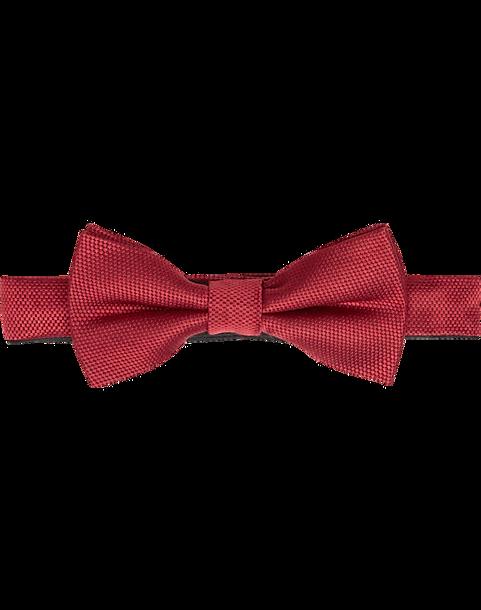 3bf34cbd4f0d Esquire Red Satin Pre-Tied Bow Tie - Men's Bow Ties   Men's Wearhouse