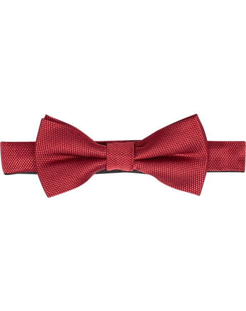 82d28d80acc1 Esquire Red Satin Pre-Tied Bow Tie - Men's Accessories   Men's Wearhouse