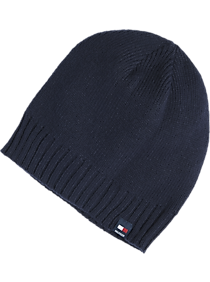 a9e3e413 Mens Accessories, Clothing - Tommy Hilfiger Navy Knit Hat - Men's Wearhouse