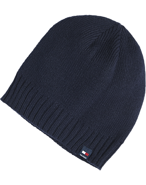 Tommy Hilfiger Navy Knit Hat - Men s Tommy Hilfiger  b77177a2f18
