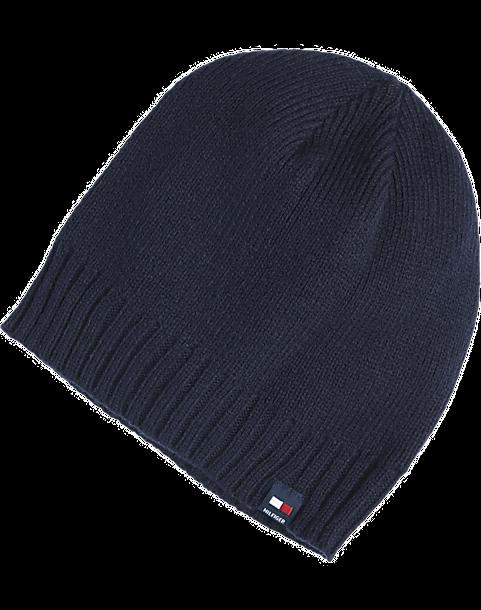 6b27f832a0ca4 Tommy Hilfiger Navy Knit Hat - Men s Accessories