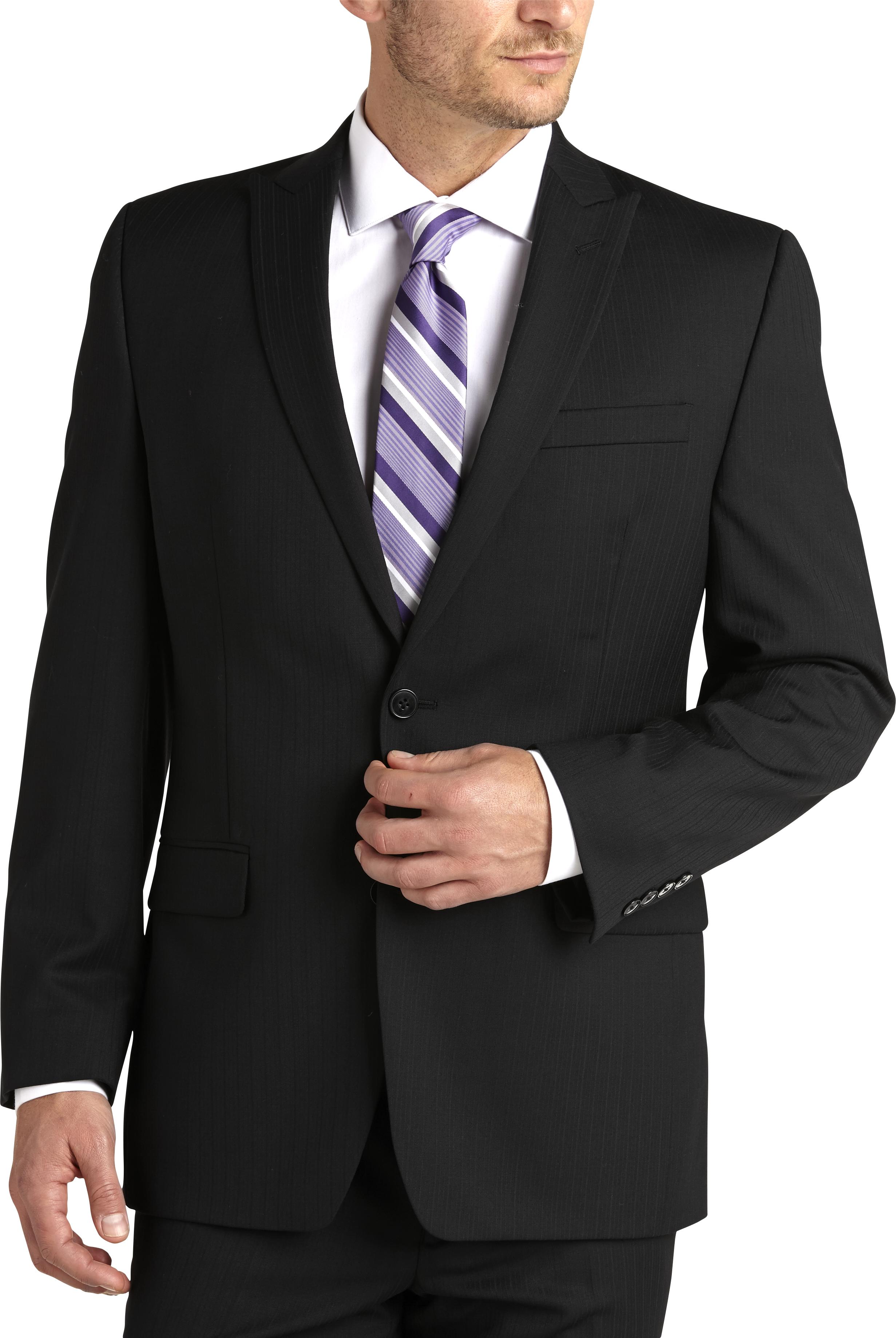 Michael Kors Black Slim Fit Suit