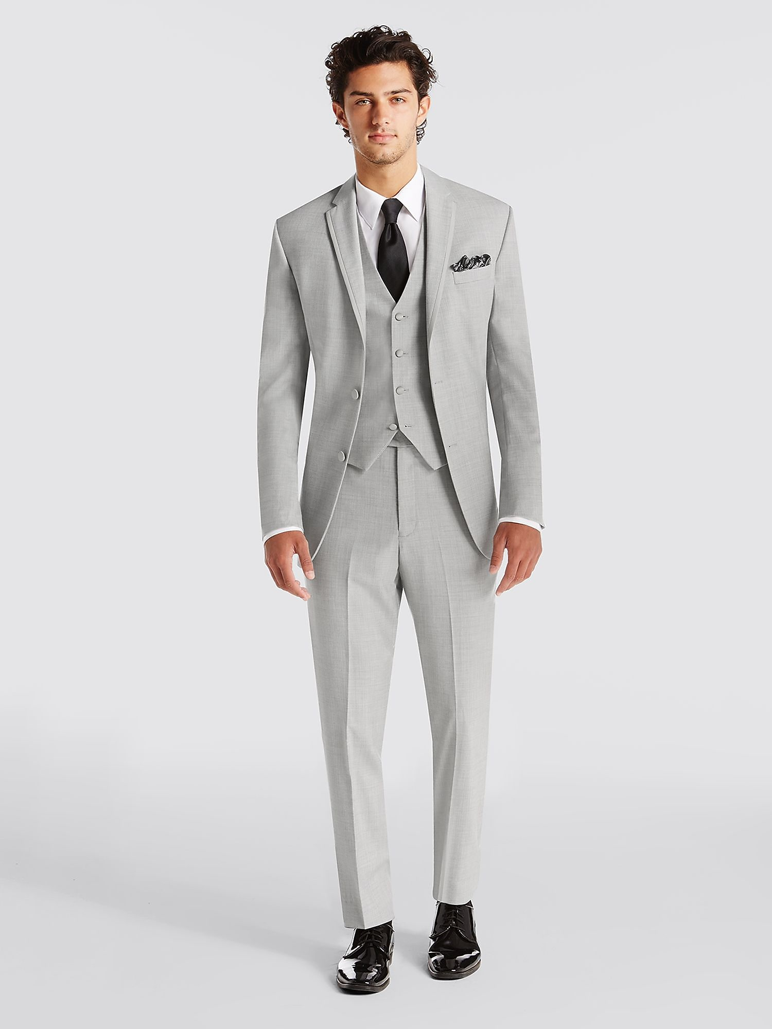 Grey Suit Prom - Go Suits