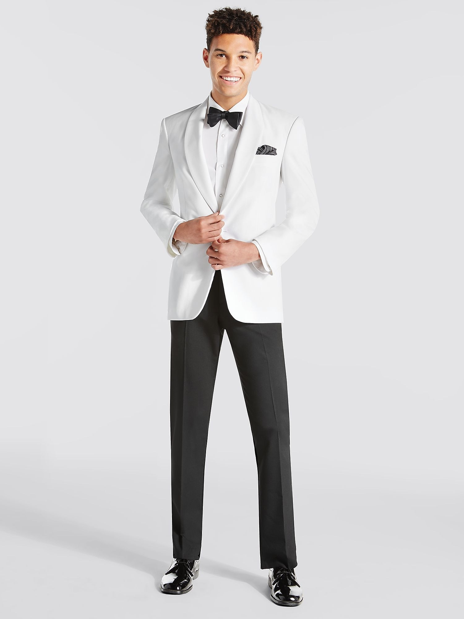 White Dinner Jacket, Shawl Lapel Tuxedo | Tuxedo Rental | Men's ...