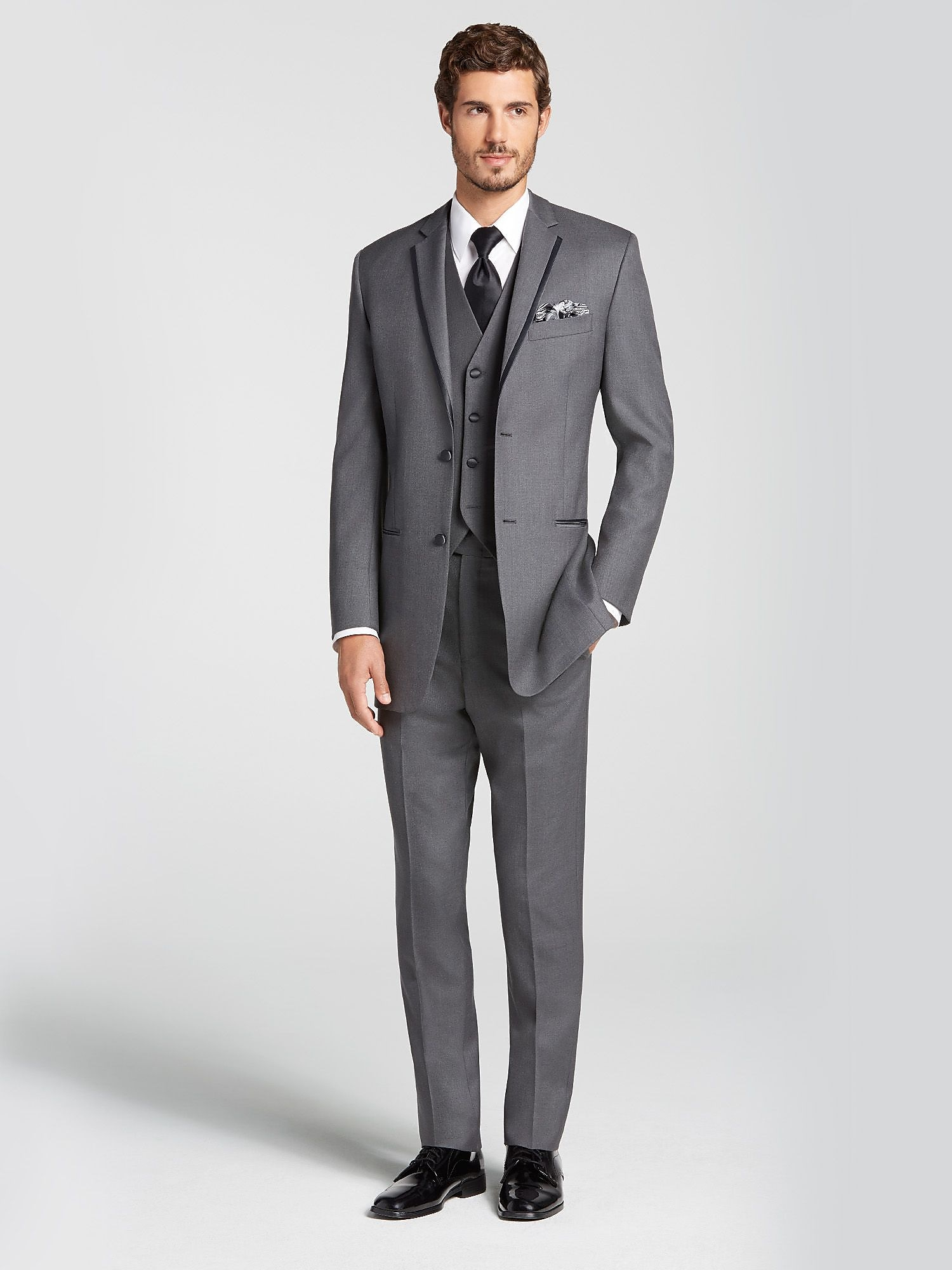 Black Cutaway Tuxedo by Joseph Feiss | Tuxedo Rental | Men\'s Wearhouse