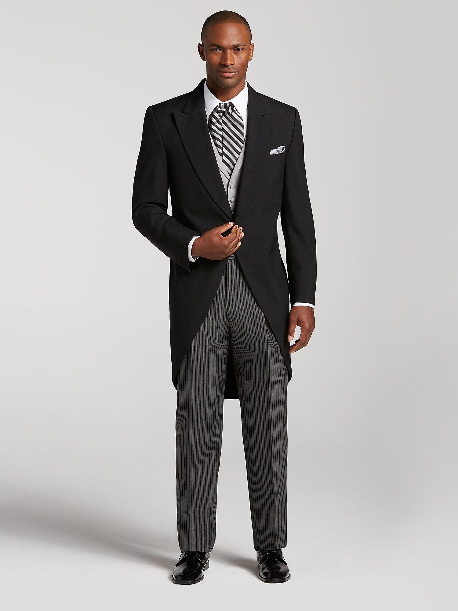 Black cutaway tuxedo by joseph feiss tuxedo rental men for Tuxedo house