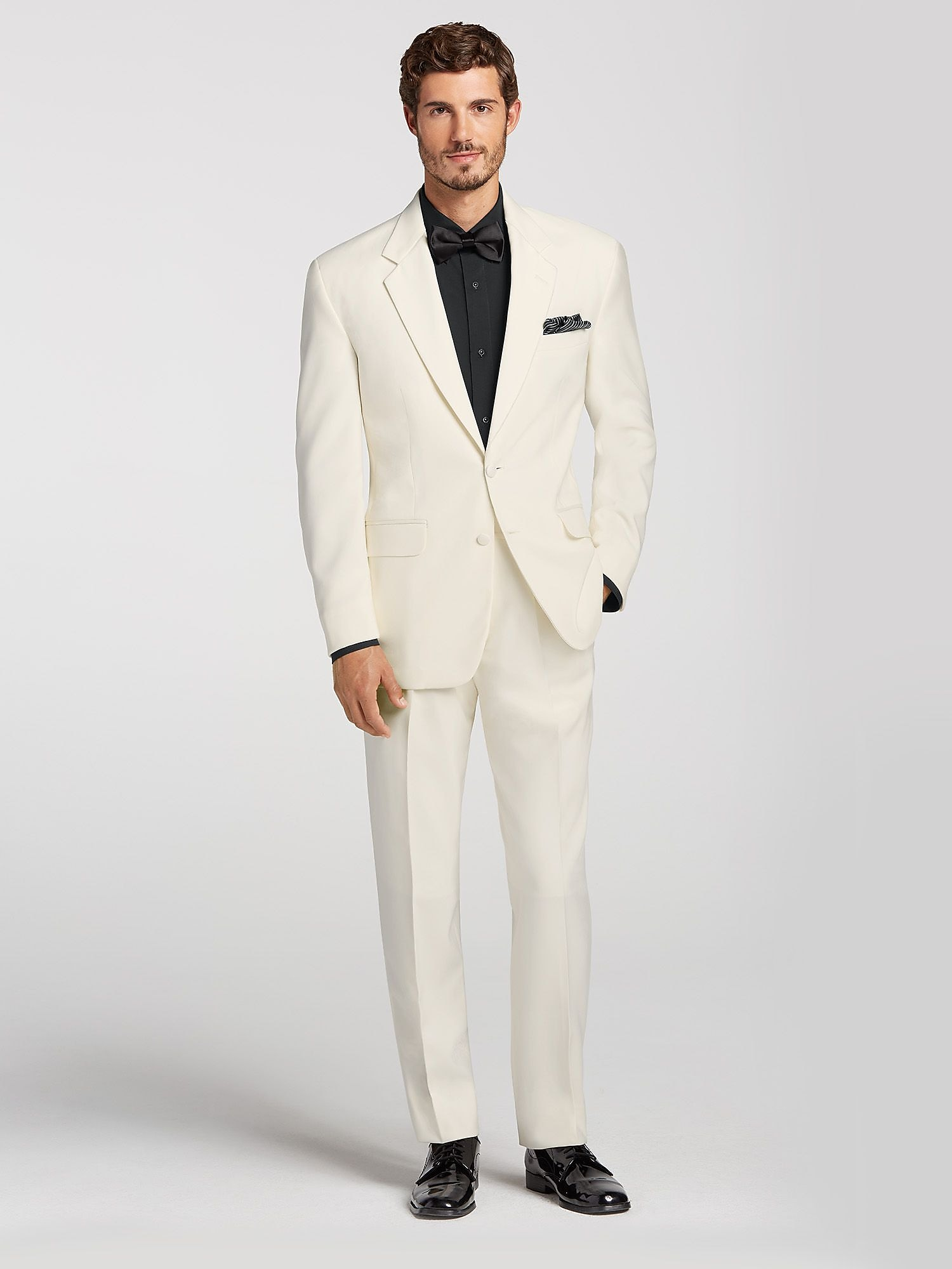 Ivory Notch Lapel Tuxedo by Joseph Feiss | Tuxedo Rental | Men\'s ...