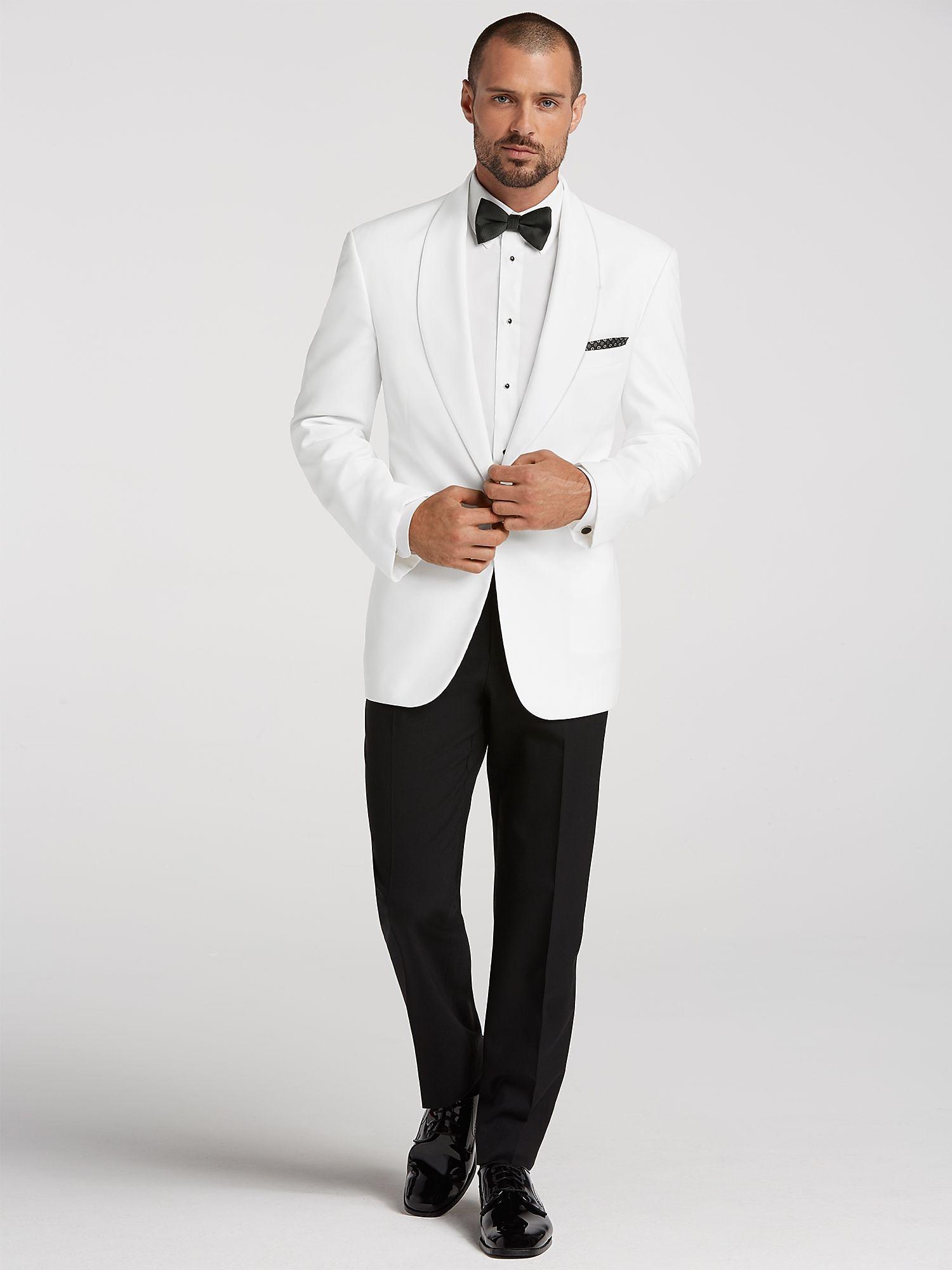 500d3b6fefb1 White Tuxedo Jacket   StudioSuits  Made To Measure Custom Suits .