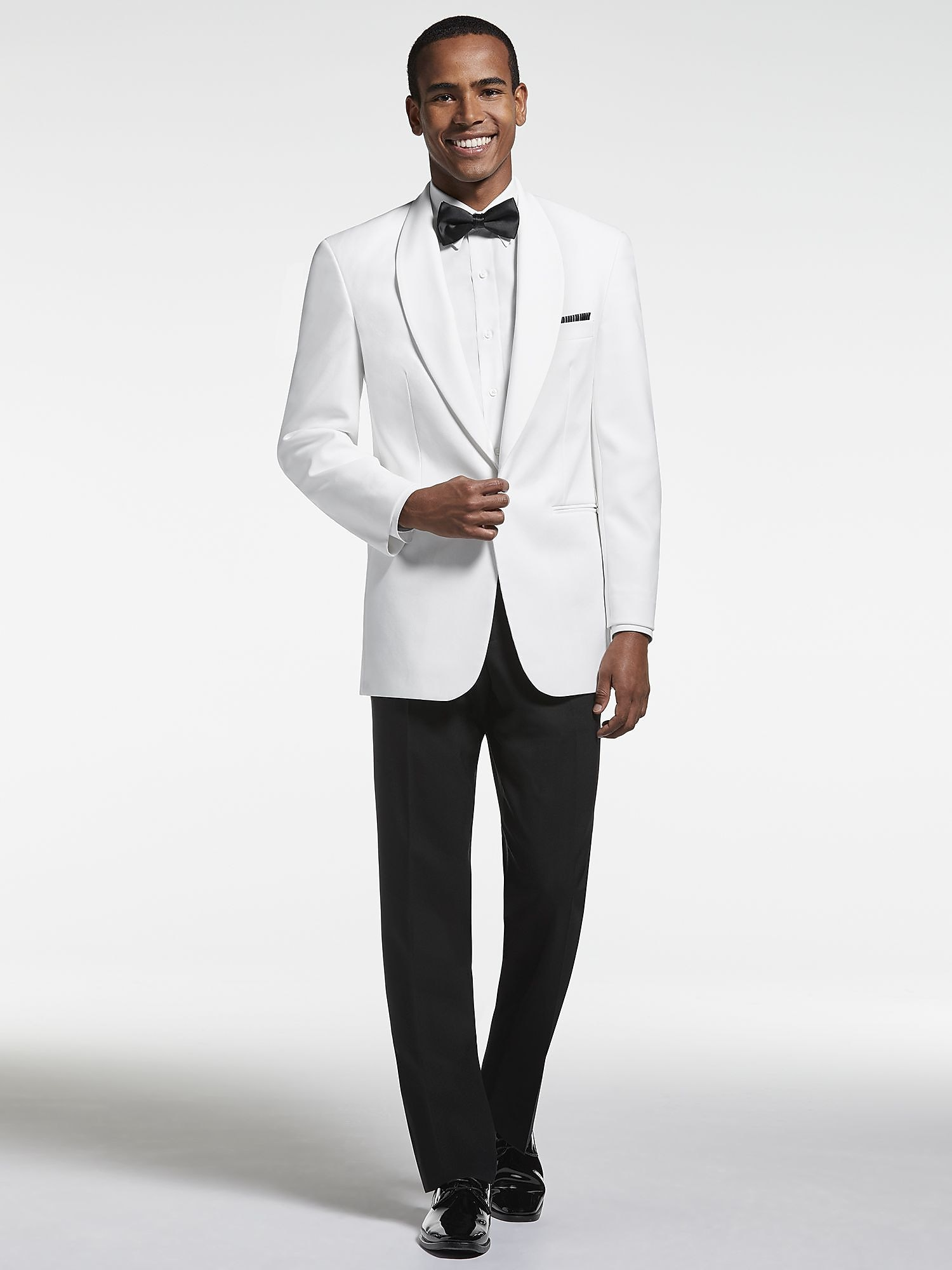 White Dinner Jacket, Shawl Lapel Tuxedo | Tuxedo Rental | Men\'s ...