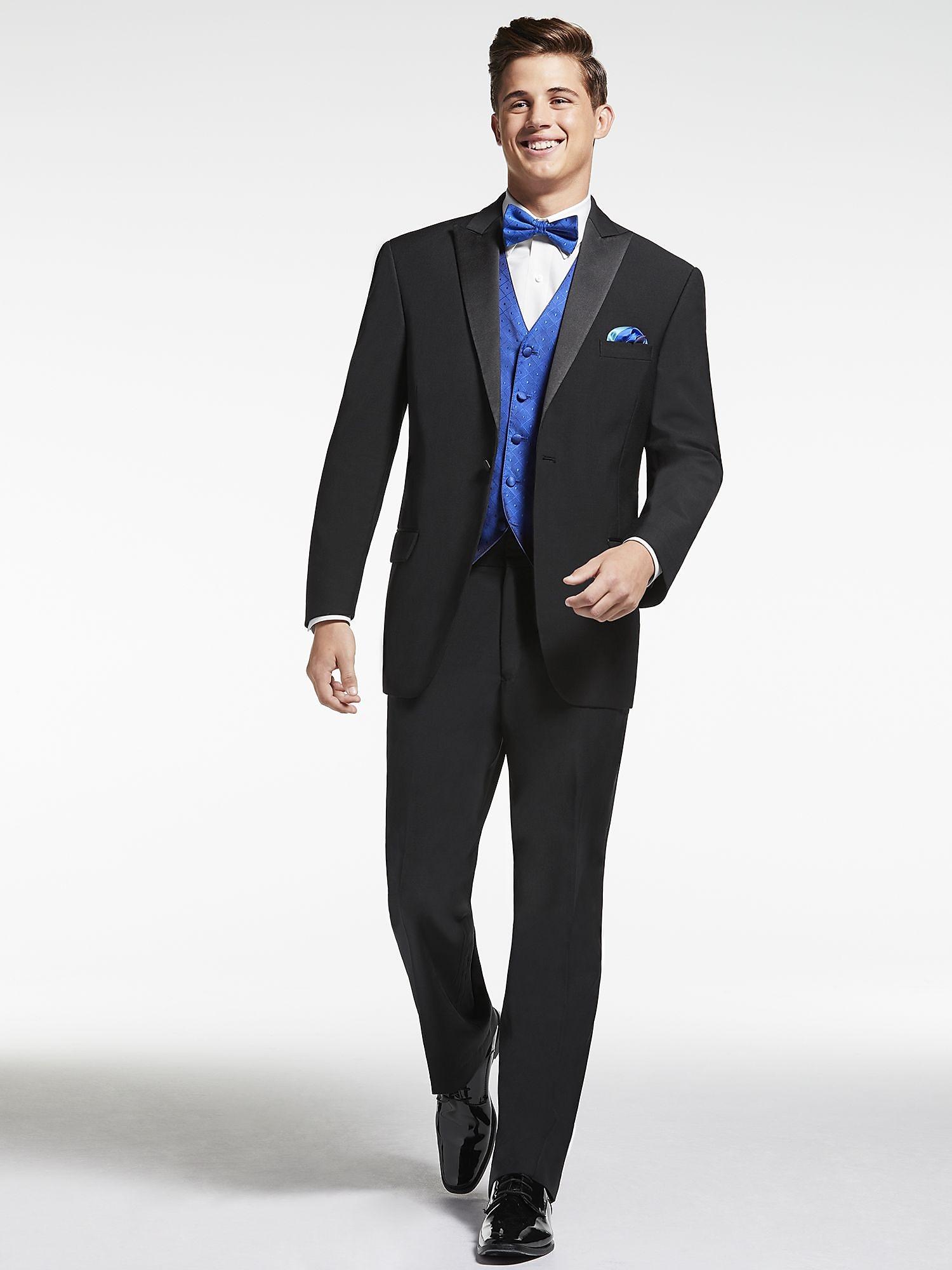 Black Tuxedo - Calvin Klein - Black Peak | Men\'s Wearhouse | Men\'s ...
