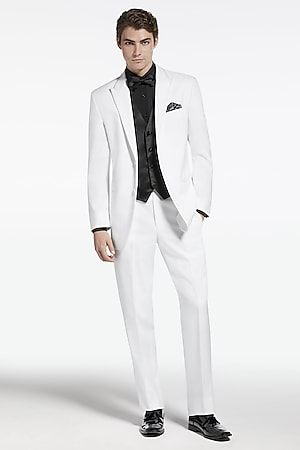White Suits For Prom uK3b