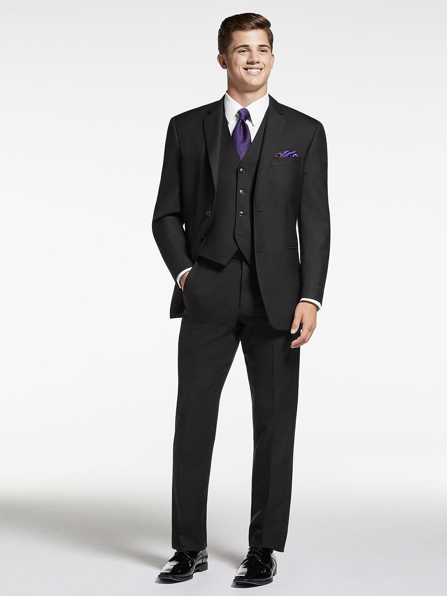Vintage Black Two Button Tux by Pronto Uomo | Tuxedo Rental | Men\'s ...