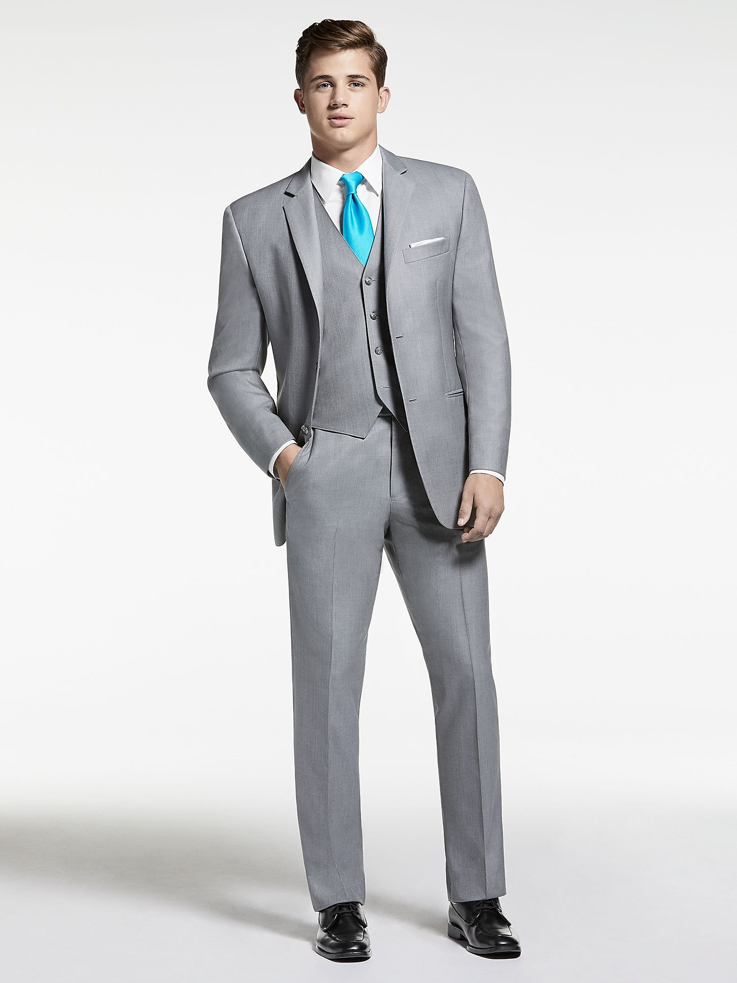 Mens Gray Suit lMtd