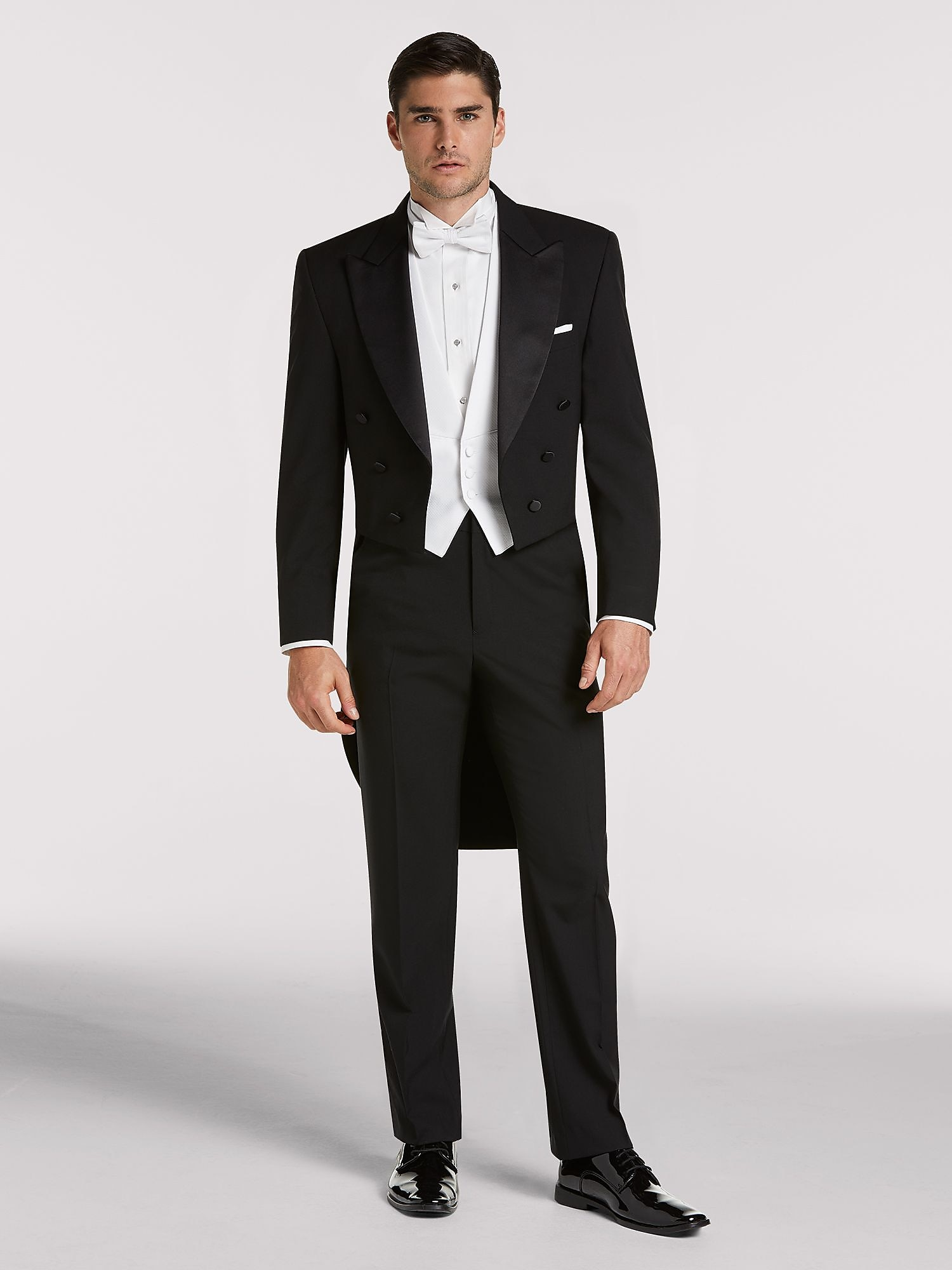 2777f9394c8 Here's what's included in your package: Joseph & Feiss Black Full Dress  Tailcoat ...