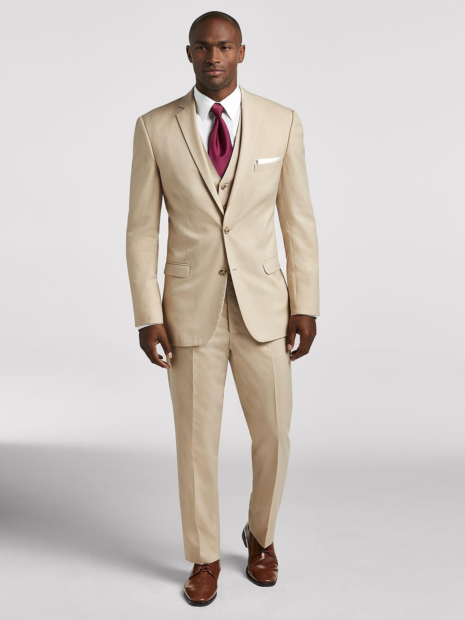 Mens Tan Suit KTZ1