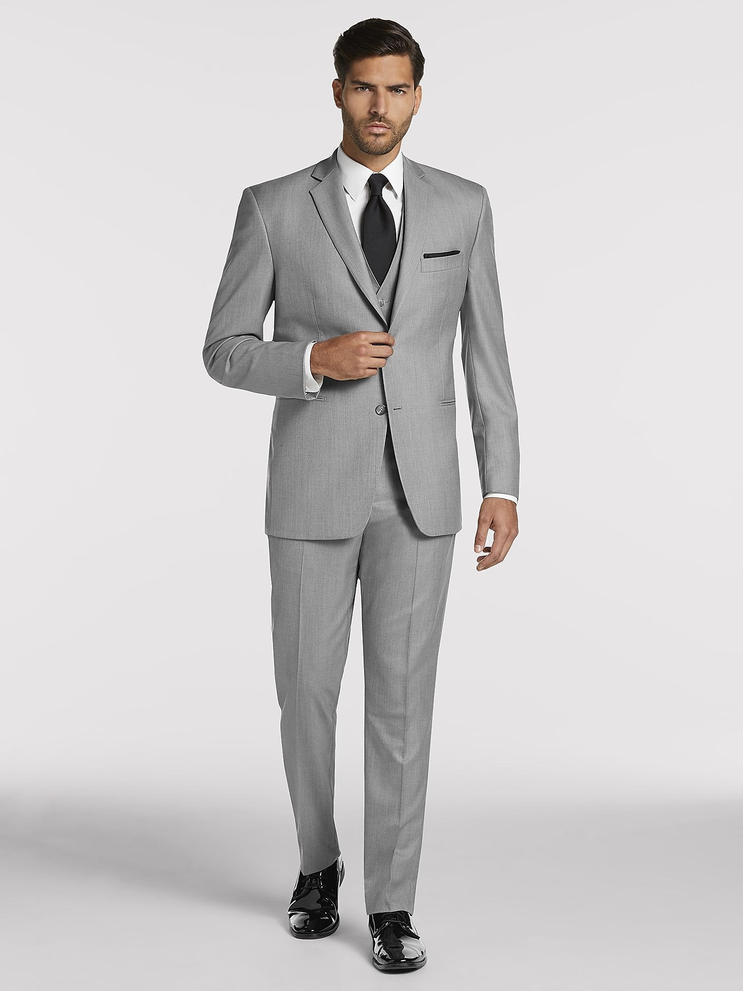 Mens Gray Suit R8ly