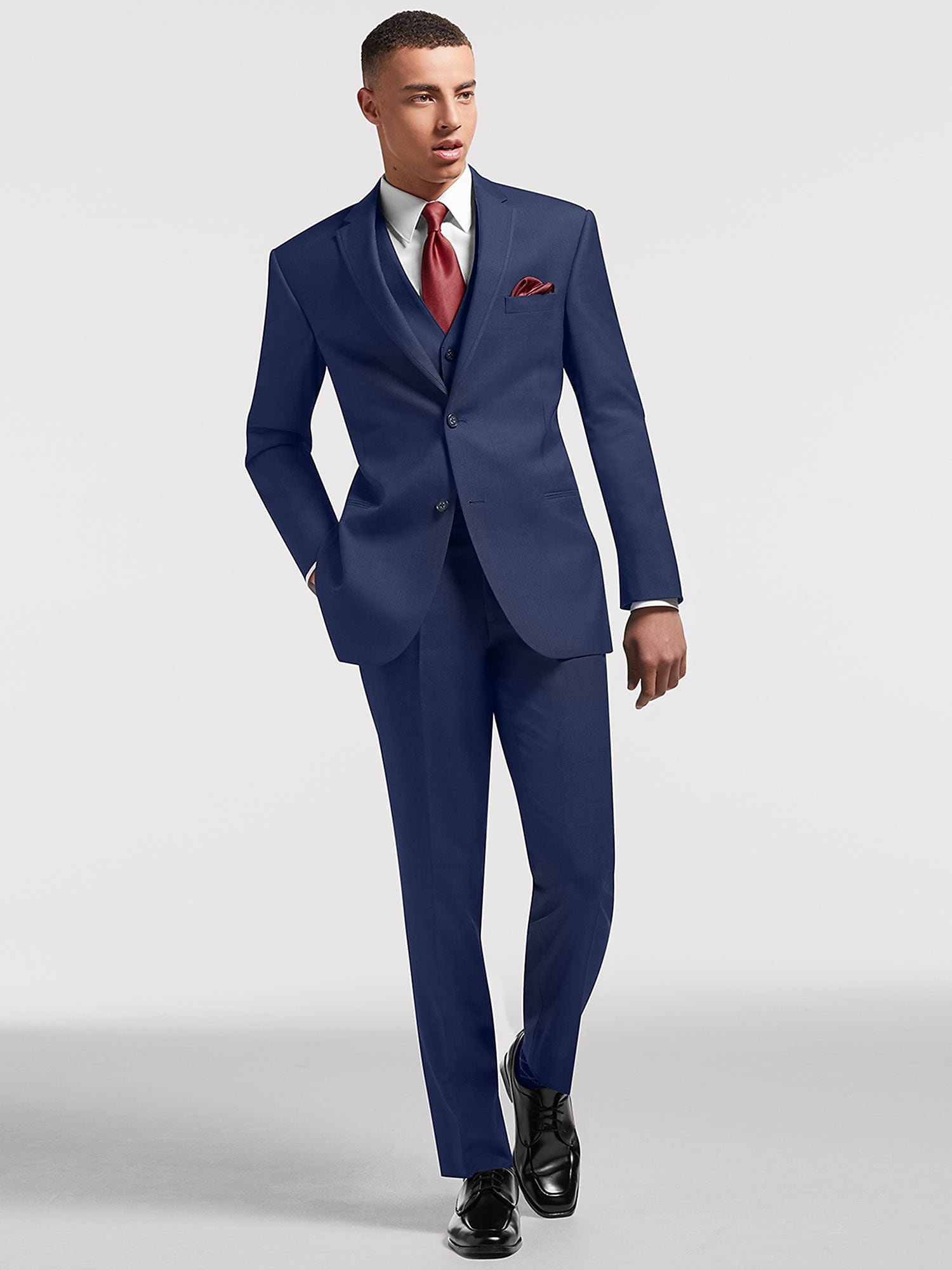 Blue Prom Suit by Calvin Klein | Suit Rental