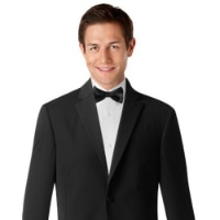 All Black Tuxedo With Bow Tie